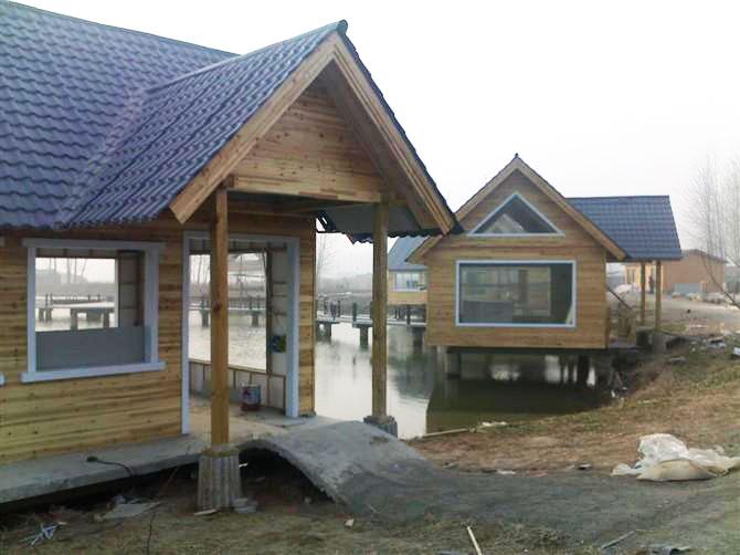 水上木屋屋顶