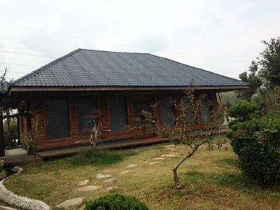木结构房屋屋顶